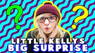 Kelly & Carly Vlogs : LITTLE KELLYS BIG SURPRISE FOR LITTLE CARLY!