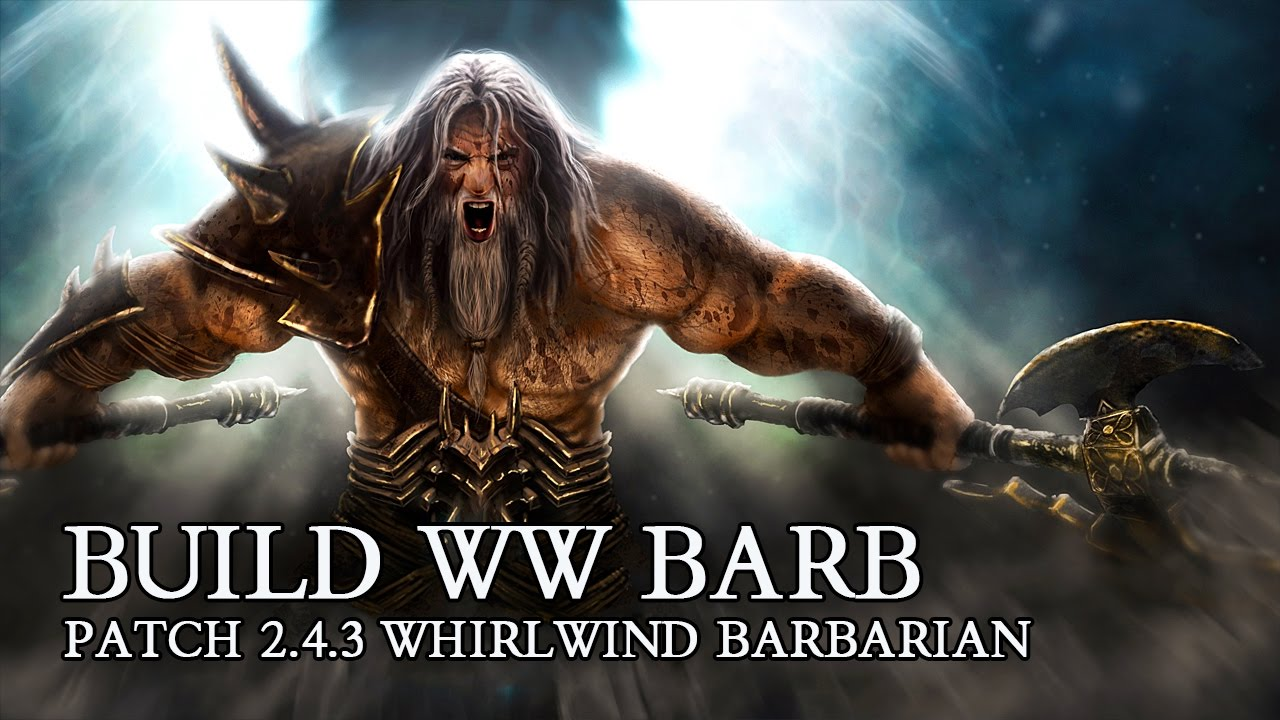 Diablo  Ww Barb Build