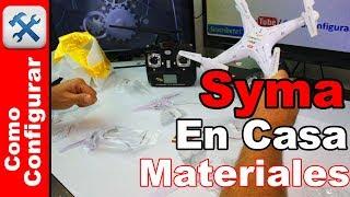 Materiales Para Construir Un Drone Desde Tu Casa tipo SYMA X5C