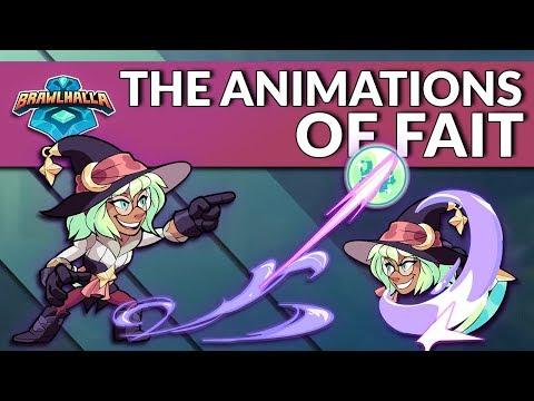 The Animations of Fait - Brawlhalla Dev Stream Montage