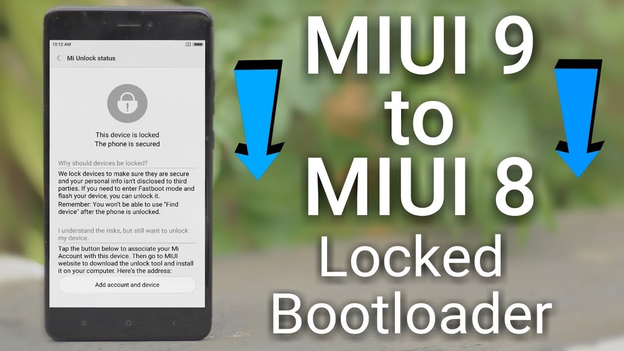 Fastboot Flash any Xiaomi Phone with Lock Bootloader