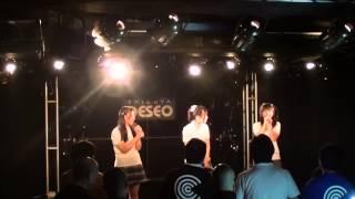 2013年7月21日渋谷DESEO「オトメ魂。」ライブでのパフォーマンス。 メン...