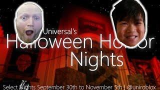 Halloween Horror Nights | Roblox Universal Studios