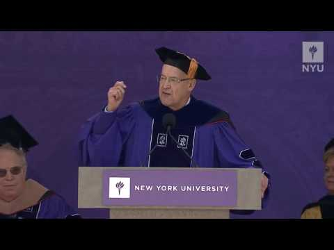 2016 NYU Commencement President Andrew Hamilton's Speech