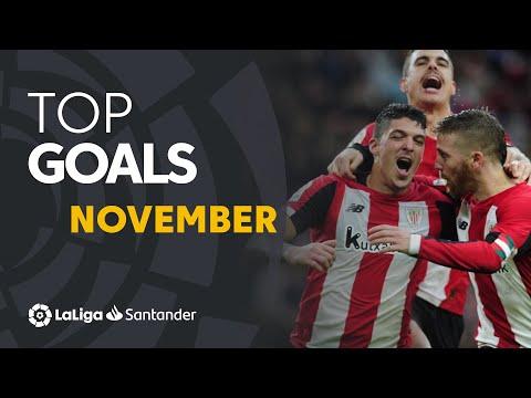 TOP Goles Noviembre LaLiga Santander 2019/2020