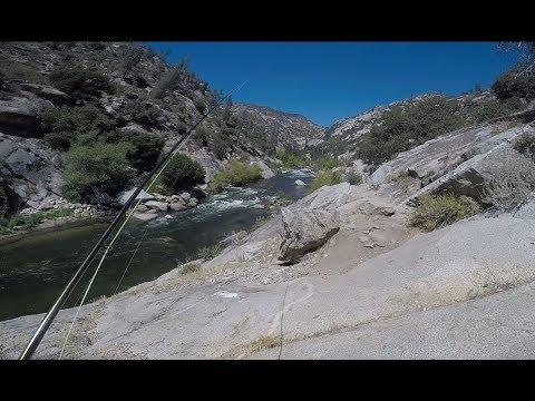 Fly Fishing At Upper Kern River, Above The Johnsondale Bridge