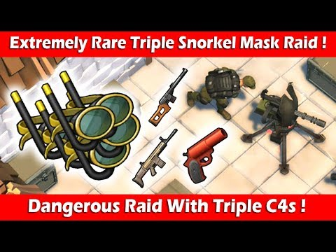 [EXTREMELY RARE] Triple Snorkel Mask Jackpot Raid ! Last Day On Earth Survival
