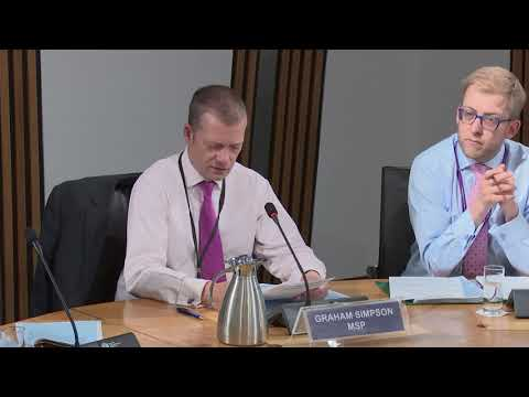 Delegated Powers and Law Reform Committee - 15 May 2018