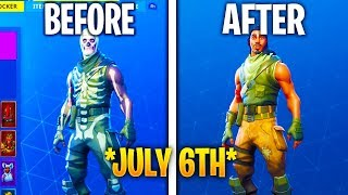I LOST ALL MY SKINS ON JULY 6 (Fortnite July 6th) Hacker Fortnite Deleted Accounts