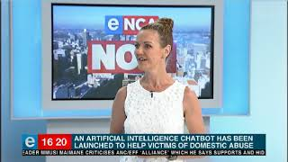 Artificial intelligence chatbot for domestic abuse victims