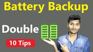 How To Save Battery On Android | 10 Tips to Get Long Battery Backup