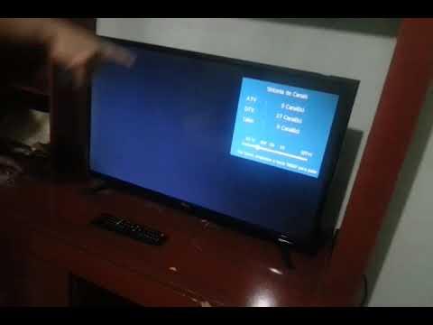 e506b8280ed Unboxing TV LED 32   Philco PTV32D12D HD com Conversor Digital 1 USB 2 HDMI