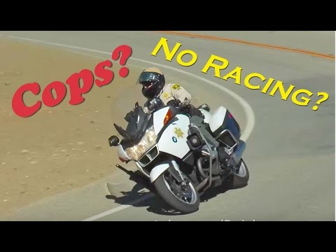 SUPERBIKE SOUNDS on Mulholland Hwy! Cops give NO F*CK!