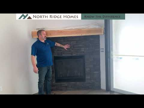 Custom Home Series - Episode 46: Stone On The Fireplace