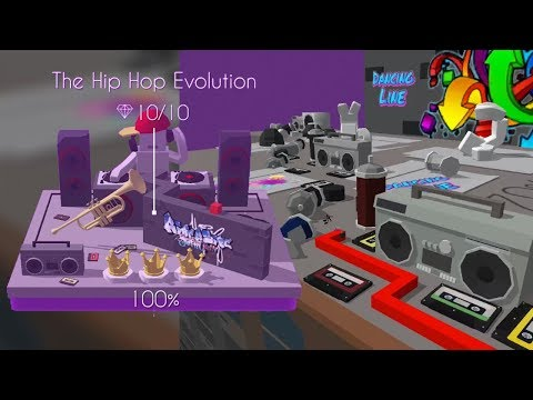 Dancing line - The Hip Hop Evolution