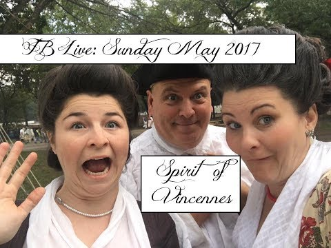 FB Live: Sunday Morning at The Spirit Of Vincennes in Indiana 2017