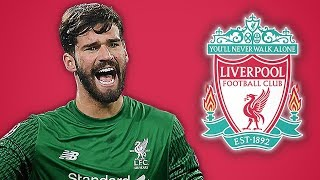 LIVERPOOL SET TO SIGN ALISSON FOR WORLD RECORD £66.8M FEE!