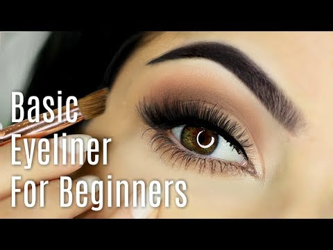 Beginners Eyeliner Makeup Tutorial | How To Apply Eyeliner