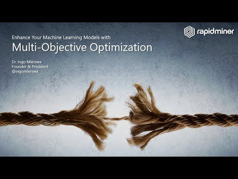 Better Machine Learning Models with Multi Objective Optimization