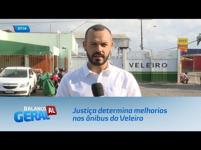 Justiça determina melhorias na frota de ônibus da empresa Veleiro