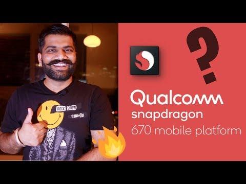 Snapdragon 670 Processor - AI Power in Mid range Phones??