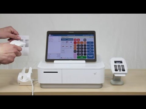 Quick Tablet Cash Register Demo with the Star mPOP