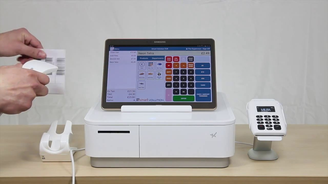 Quick Tablet Cash Register Demo with the Star mPOP - YouTube