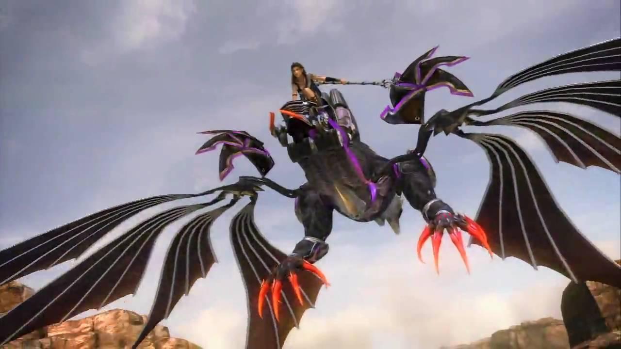 HDPS3 Final Fantasy XIII Summon Bahamut Fang YouTube