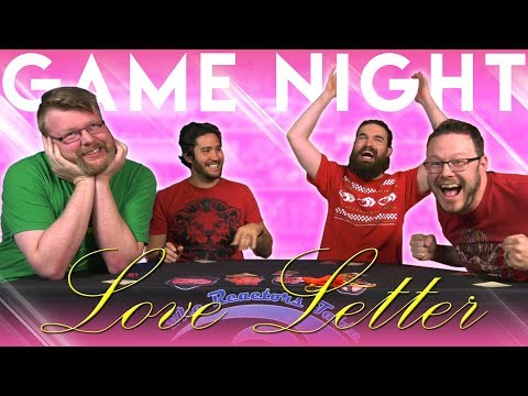 Love Letter GAME NIGHT!!