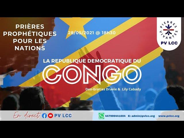Une heure de prières prophétiques.  LA RDC