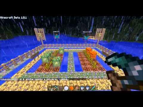 Tutorial ita coltivare meloni e zucche in minecraft youtube for Coltivare meloni