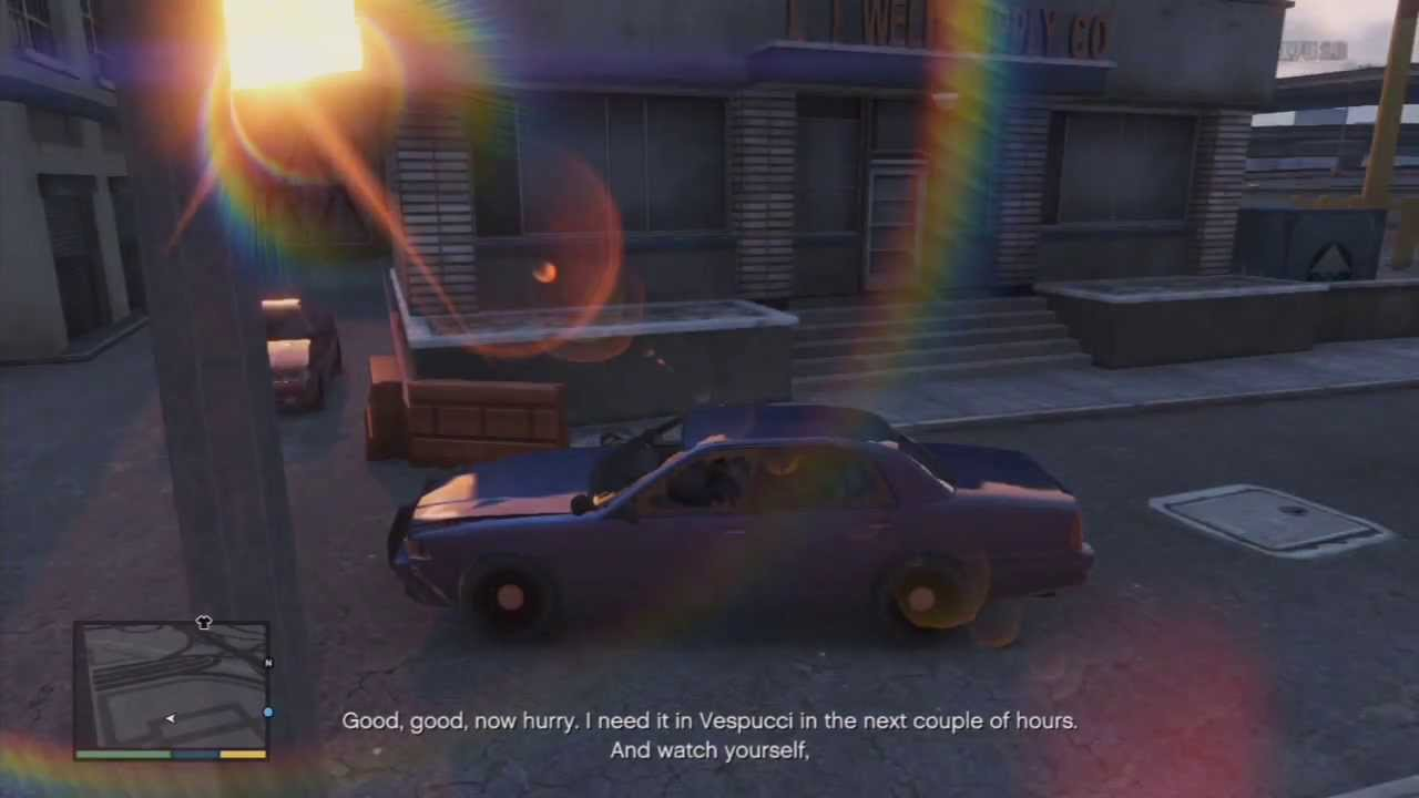 GTA V - Unmarked Police Cars and get them - YouTube