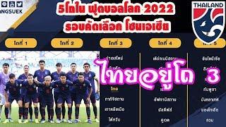 ไทยอยู่โถ3 ในการแบ่งโถในฟุตบอลโลก 2022 รอบคัดเลือก โซนเอเชีย