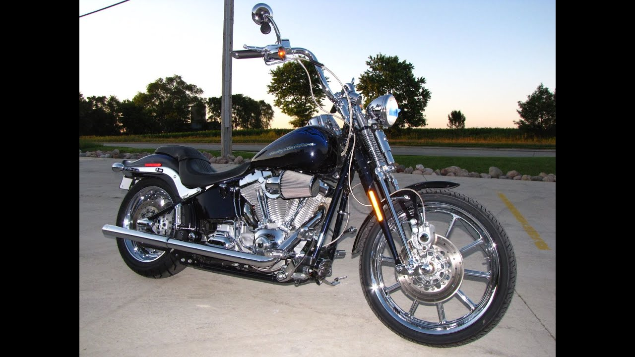 2007 harley davidson cvo springer softail screamin eagle fxstdse youtube