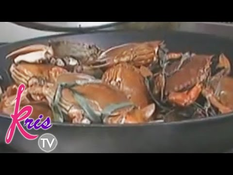 PNoy Loves Kris' Cooking