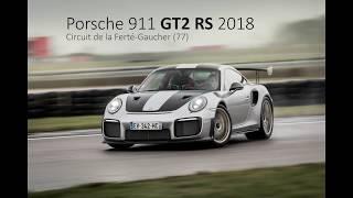 NEW Porsche 911 GT2 RS 2018 !!! Test on wet track !!