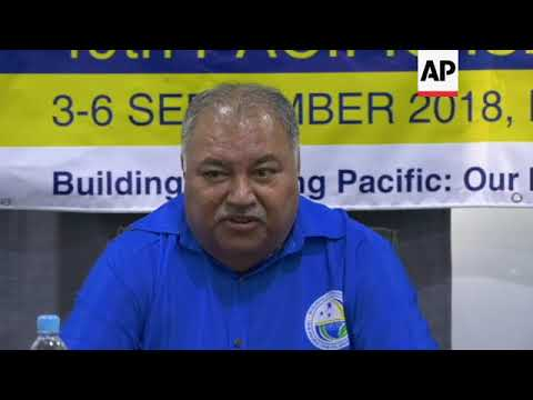 Chinese official accused of bullying at Nauru forum