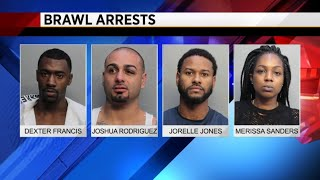 A group fight broke out Sunday night at the Fontainebleau's LIV Nig...