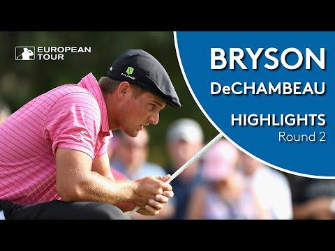 Bryson DeChambeau Highlights | Round 2 | 2019 Omega Dubai Desert Classic