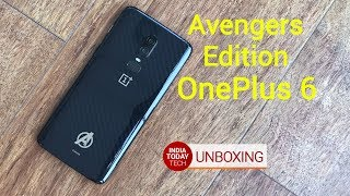 OnePlus 6 Marvel Avengers Edition Unboxing