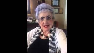 Fannie Goodman - Leon Weinschneider Testimonial Video