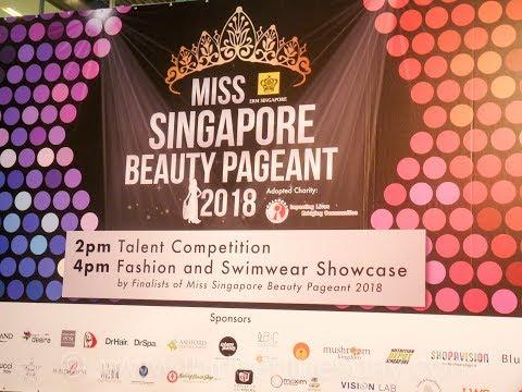 Miss Singapore Beauty Pageant 2018 Talent Show