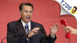 Mitt Romney Does Not Like LIBERAL SuperBowl Commercials