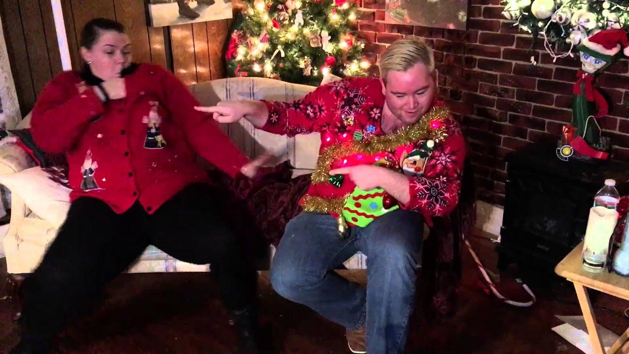 David & Jessica Christmas 2015 - YouTube