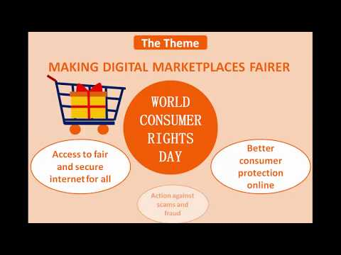 World Consumer Rights Day 2018