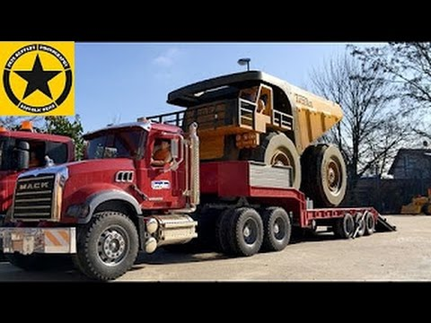 Tonka Toy Trucks >> BRUDER Toy Trucks MONSTER Dumper bworld CONSTRUCTION in ...