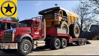 BRUDER Toy Trucks MONSTER Dumper bworld CONSTRUCTION in Jack's WORLD