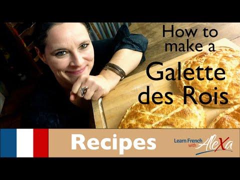 How to make a Galette des Rois (Comment faire une galette des rois)