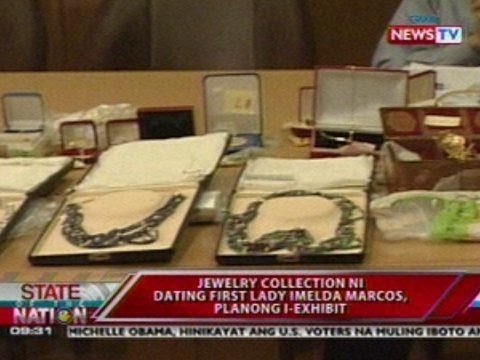 SONA: Jewelry collection ni dating First Lady Imelda Marcos, planong i-exhibit
