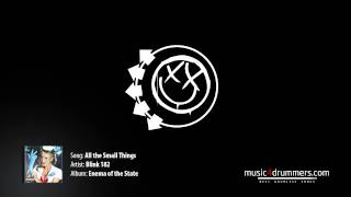 DRUMLESS Blink 182  - All the Small Things - music4drummers
